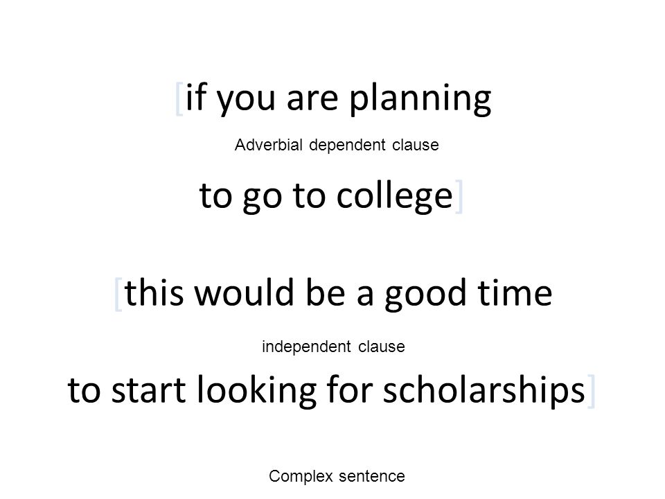 [if you are planning to go to college] [this would be a good time to start looking for scholarships]